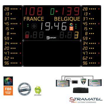 Afbeelding van Elektronisch Scorebord 452MB7120 - PRO