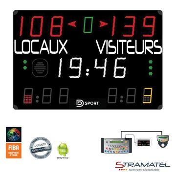 Afbeelding van Elektronisch Scorebord 452MD7000 - PRO