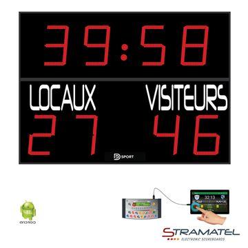 Afbeelding van OUTDOOR: Elektronisch Scorebord 452FRC