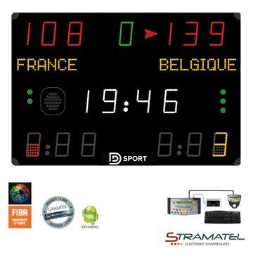 Afbeelding van Elektronisch Scorebord 452MS7100 - AMATEUR