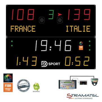 Afbeelding van Elektronisch Scorebord 452MF7100 - SUPERPRO