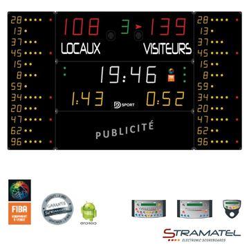 Afbeelding van Elektronisch Scorebord 452MF7020 - SUPERPRO