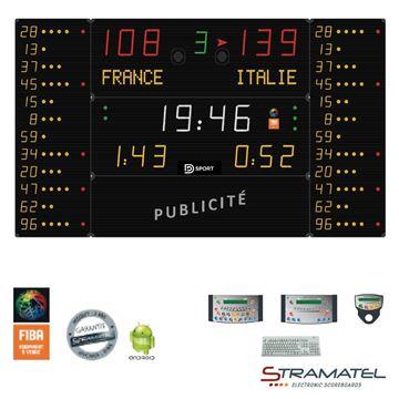 Afbeelding van Elektronisch Scorebord 452MF7120 - SUPERPRO