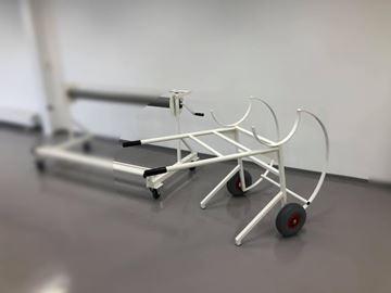 Afbeelding van Steekwagen voor transport vloerbeschermingsmatten
